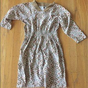 Gymboree dress sz 7 great geometric pattern!